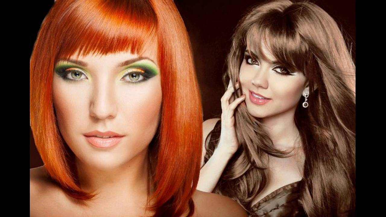 Best Hair Color Ideas For Yellow Skin Tone - YouTube