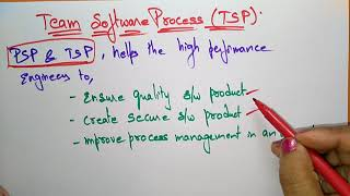 team software process  | software engineering |