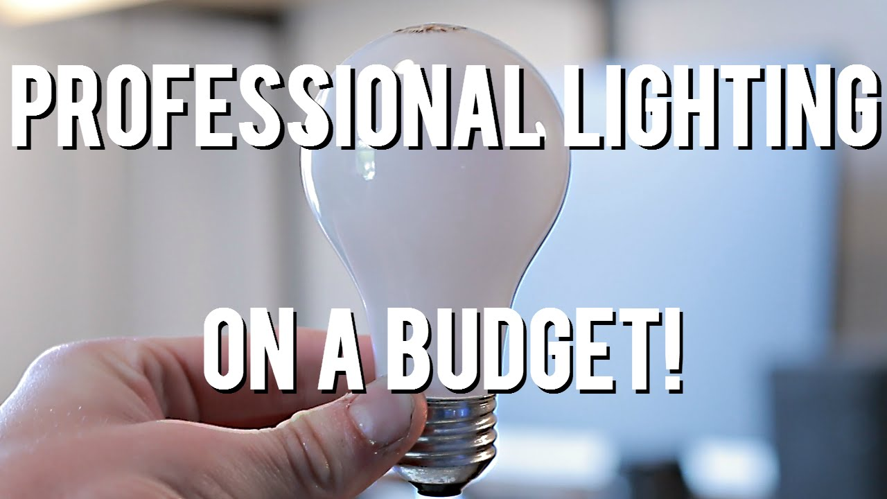 watch cheap for video youtube lighting