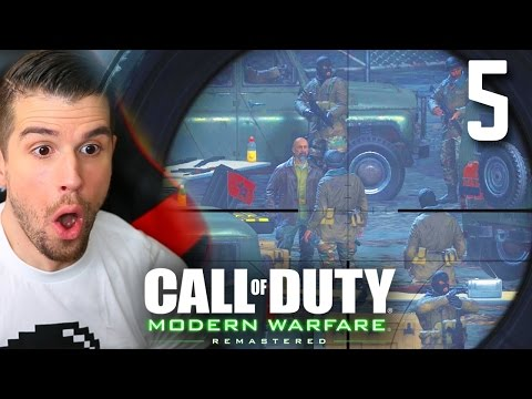 MODERN WARFARE REMASTERED - Ep. 5 - ONE SHOT, ONE KILL!! (COD4 REMASTERED WALKTHROUGH LET'S PLAY #5)