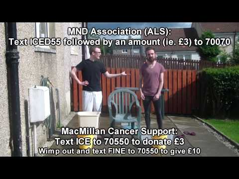 Nick and Liam's Ice Bucket Challenge