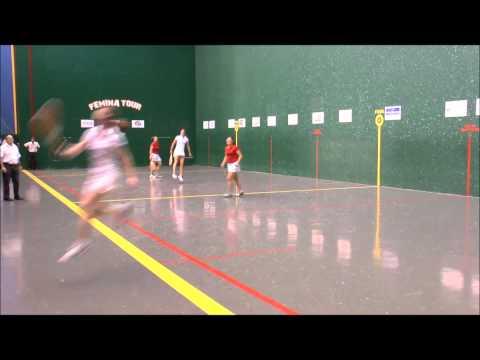 Fémina Tour 2014: OLCOMENDY-BORDAGARAY contre LEPPHAILLE-HOUSSET (FINALE ELITE)