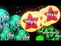 Agar.io - Hiya & Getdeadkid Random Rush Uncut #1