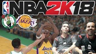 ALL TIME CELTICS vs ALL TIME LAKERS | NBA 2K18 | El desenlace