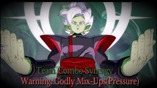 DBFZ: Zamas Godly Mixups and amazing team Synergy Combos