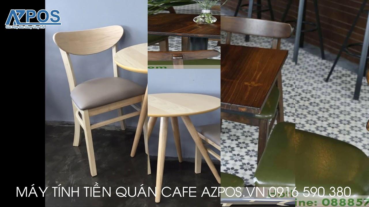 Top Những Mẫu Bàn Ghế Dành Cho Quán Cafe Đẹp P2 – Máy Tính Tiền Cảm Ứng Azpos