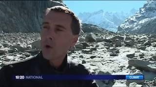 La mer de Glace dans les Alpes va-t-elle disparaitre ?