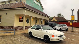 Ford Escort RS Turbo Eats More Then Just Burgers!