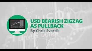 Weekly Forex Overview: USD bearish zigzag as pullback
