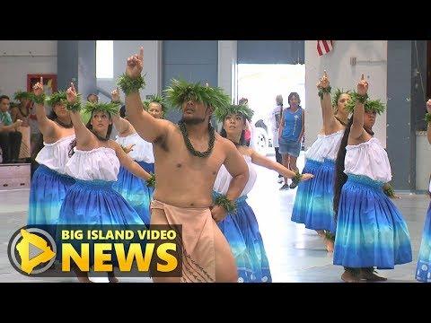 Halau Hula O Kahikilaulani Thrills Merrie Monarch Crowd (Apr. 1, 2018)