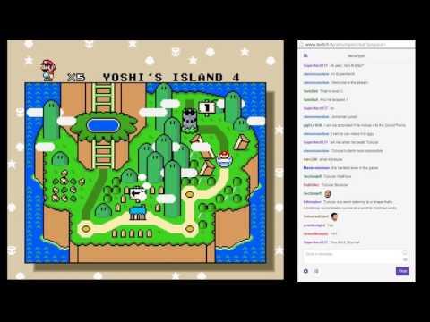 Stream Highlight: Super Mario World Blindfolded