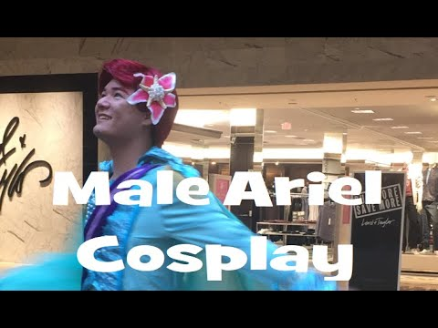 Male Ariel 2017 Cosplay Adventure (NYCC)