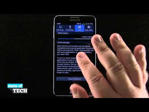 Samsung Galaxy Note 3 Tips - RAM Status and Manager
