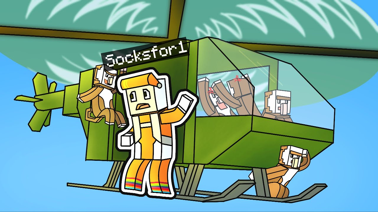 Download MONKE HELICOPTER ON THE SOCK SMP #9