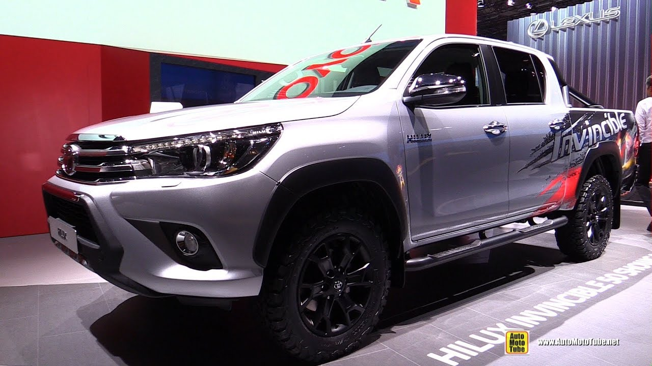 2018 toyota hilux executive exterior and interior walkaround 2017 frankfurt auto show youtube. Black Bedroom Furniture Sets. Home Design Ideas