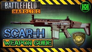 scar h review gameplay best gun setup   battlefield hardline weapon guide bfh
