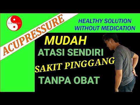 🔴Cara mengatasi sakit pinggang dengan mudah