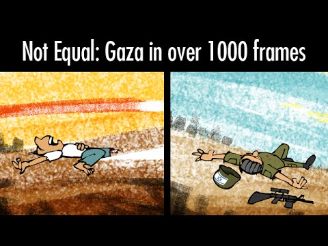 Not Equal: Gaza in over 1000 frames