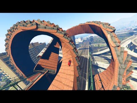 MONSTER CITY WALLS & LOOPS! (GTA 5 Funny Moments)