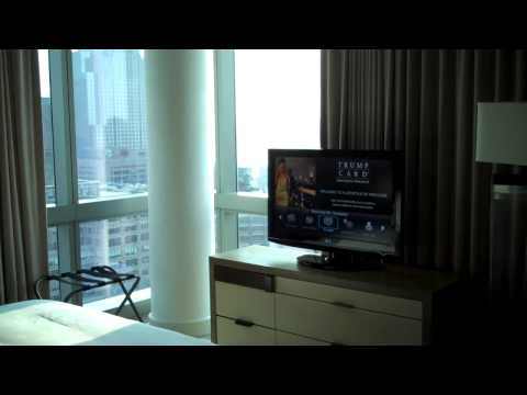 Trump SoHo NYC hotel room tour