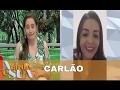 Carlão do Encrenca assume que é mulher de verdade e revela porque tem voz grossa | A Tarde é Sua