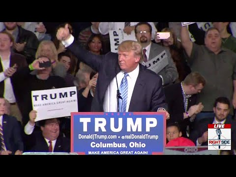 FULL SPEECH: Donald Trump EXPLOSIVE Rally in Columbus, OH (11-23-15)