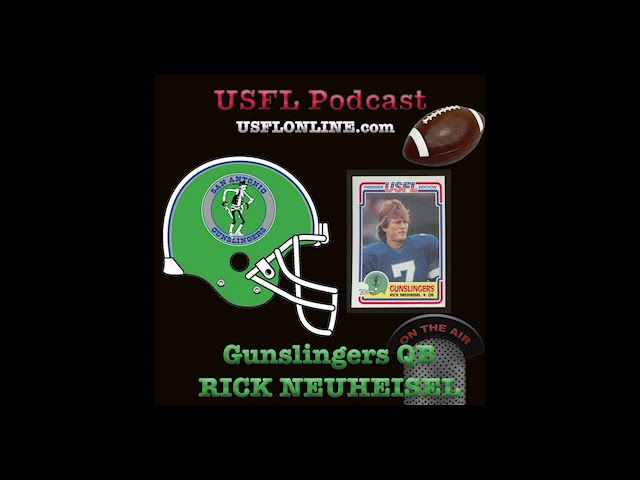 Former Gunslingers QB relives his days in the USFL