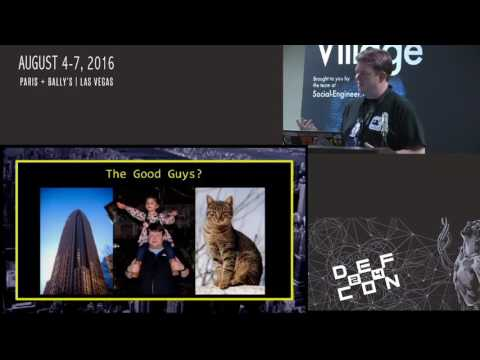 DEF CON 24 SE Village - James Powell  - You Are Being Manipulated
