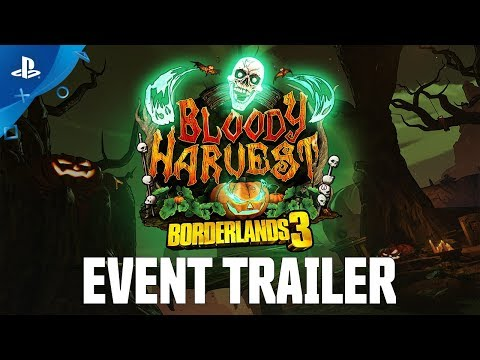 Borderlands 3 – Bloody Harvest Event Trailer | PS4 from YouTube · Duration:  58 seconds
