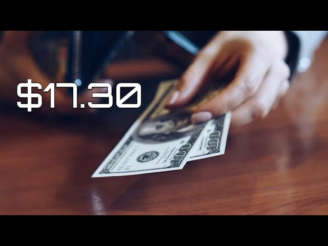 January 23, 2021. $17.30 by DJ Jacobsen