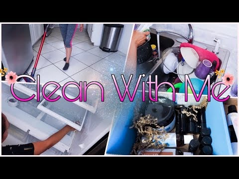 Extreme Cleaning Motivation|| Clean My Kitchen And Fridge||Simple Earth Oils|| Speed Cleaning