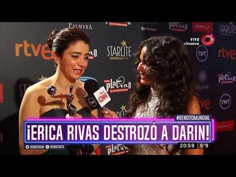 ¡Erica Rivas destrozó a Darín!