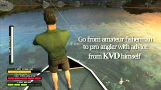Kevin Van Dam: Big Bass Challenge Trailer for PS3 and Wii