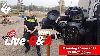 LIVE Q&A met Politievlogger Jan-Willem