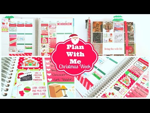Plan With Me | Christmas Planning Session