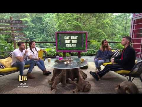 I'm a Celebrity Extra Camp Discuss Iain & Amir's Strawberries Crime!