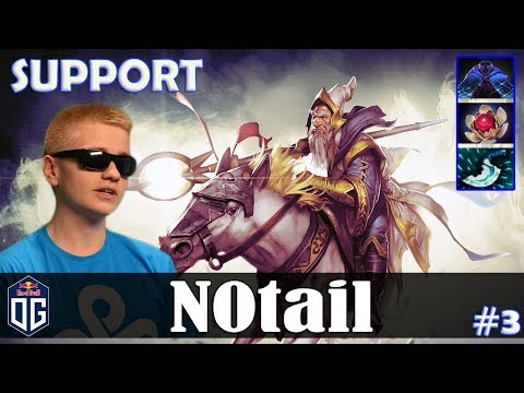 N0tail - Keeper Of The Light Roaming | SUPPORT | Dota 2 Pro MMR Gameplay #3