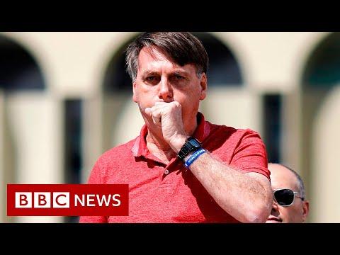 Coronavirus: Brazil's President Bolsonaro tests positive - BBC News
