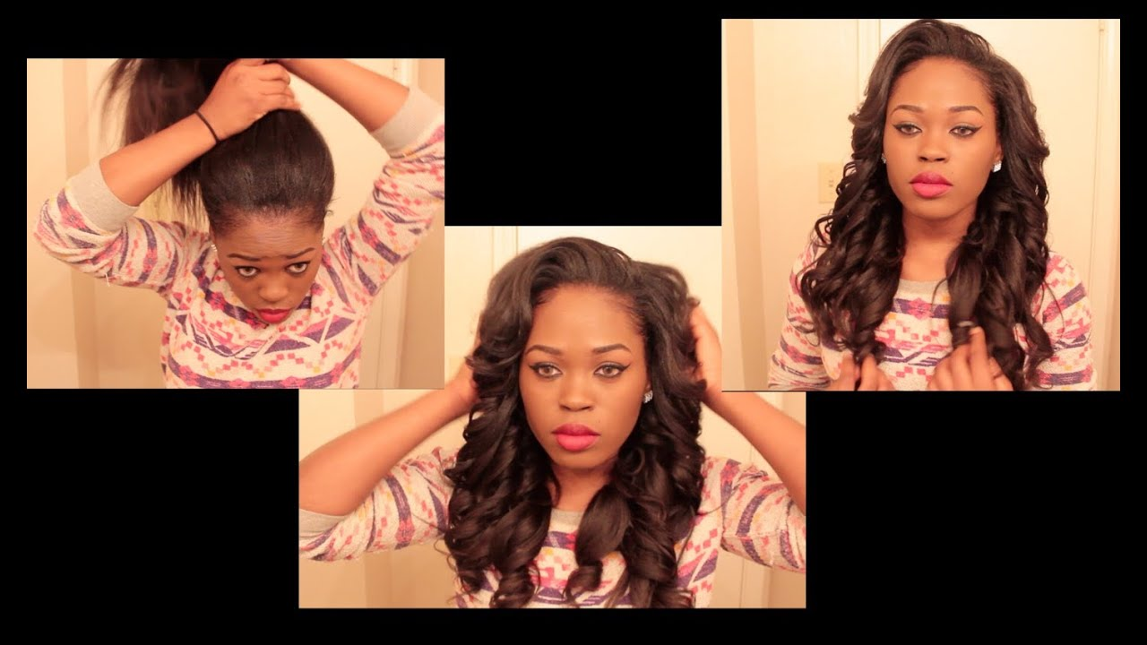 versatile & natural looking sew in you can put in a high ponytail