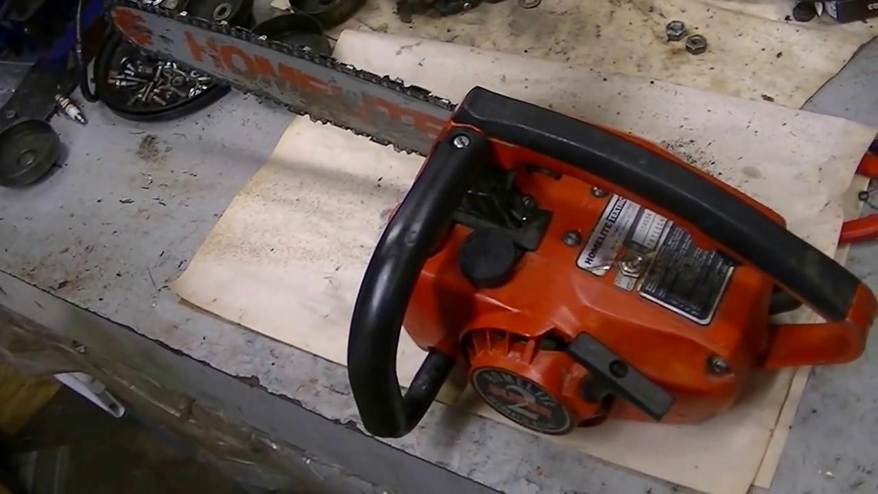 Scott's Homelite Super 2 Chainsaw