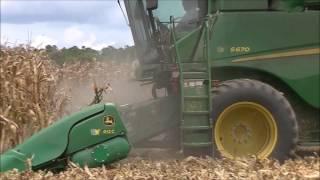 Video JOHN DEERE S670 SHELLING CORN. SCOTT FARMS 2017 CORN HARVEST 2 download MP3, 3GP, MP4, WEBM, AVI, FLV November 2017