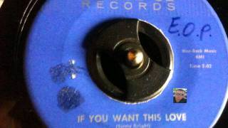 Enzo Oldies Popcorn-SONNY KNIGHT- IF YOU WANT THIS LOVE OF MINE - (AURA)