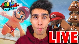 LIVE op NINTENDO SWITCH! 20:00 (Mario Odyssey etc.)