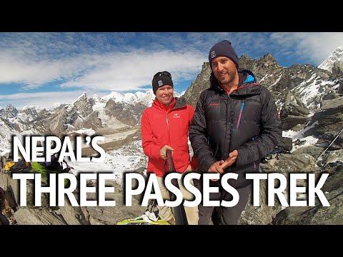 The Three Passes Trek: Backpacking Nepal's toughest Everest-region hike