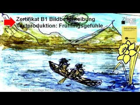 zertifikat b1 textproduktion bildbeschreibung