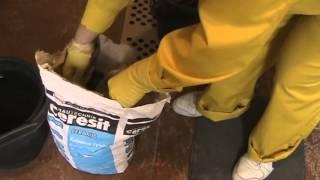Видеоуроки по ремонту квартир. Как приготовить раствор Церезит СМ 11