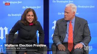 Matt schlapp, chairman of the american conservative union, and neera tanden, president ceo center for progress, debate health care policy in ...