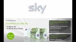 Sky Gutschein 100 Euro Freundschaftswerbung