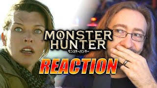 MAX REACTS: Monster Hunter - Movie Trailer