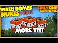 Minecraft - Special Bombs in one Command!   No Mods! (Vanilla)